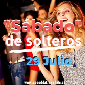 Massive SpeedDating en Santiago (>27) Sábado- 29/Jul