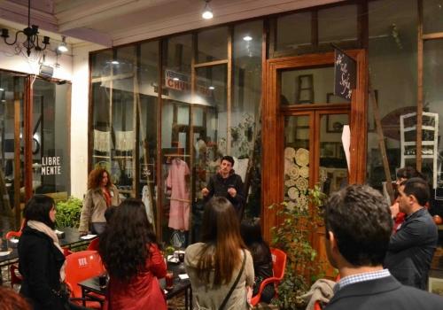 Speed Dating Barrio Italia  25 – Agosto (28 a 45 años)